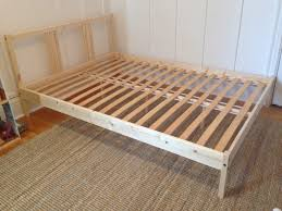 Malm Ikea Bed Frame Bed Frames Fjellse Ikea Leirvik Frame Assembly Review Bedroom