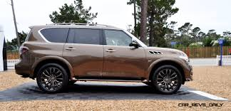 car revs daily com 2015 infiniti qx80 limited pebble beach 68
