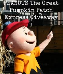 peanuts the great pumpkin patch express giveaway oc mom blog