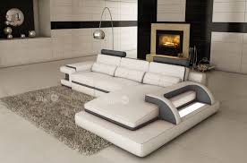 canapé d angle blanc et gris canapé d angle 6 places ibiza coloris blanc et gris foncé angle