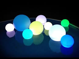 16 color changing led s light up decoration balls 10 12 14