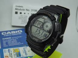 Jam Tangan Casio New jual jam tangan casio ae 1000w 1avdf original