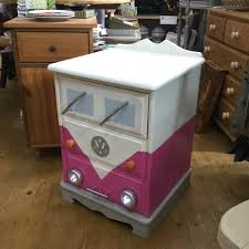 Locker Nightstands Vw Campervan Bedside Drawers Painted Locker Nightstand For The