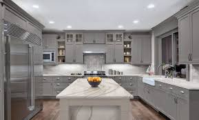 grey kitchen cupboards with black worktop 32 stylish ways to work with gray kitchen cabinets