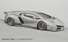 lamborghini front drawing how to draw a lamborghini veneno youtube