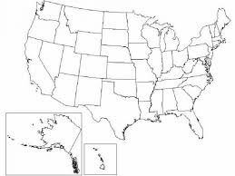us map outline image printable map of the usa mr printables geography united