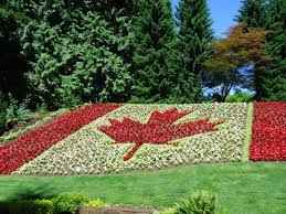 Giant Canadian Flag Minter Gardens Exceeding Expectations That Bloomin U0027 Garden