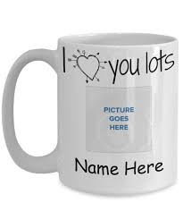 personalized mugs i you lots 15 oz coffee mug add your