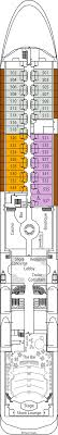 deck plans silversea silver whisper deck plans ship layout staterooms