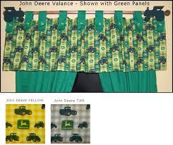 Button Valance Button Tab Valances John Deere Fabrics Valance Window Coverings