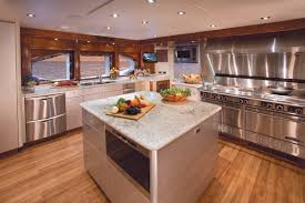 Wide Galley Kitchen Galley Image Gallery U2013 Luxury Yacht Browser By Charterworld