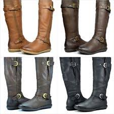 womens size 12 narrow winter boots s knee high buckle narrow aa n boots ebay