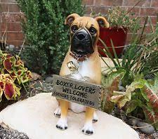 boxer dog statue boxer dog collectibles ebay