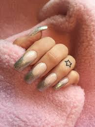 the 25 best sparkle french manicure ideas on pinterest sparkly
