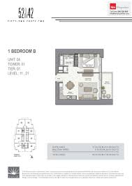 floor plans 52 42 fifty two forty two tower dubai marina by emaar