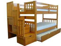 Wood Bunk Beds With Stairs Plans by Bunk Bed Plans Twin Over Twin Home Design Ideas