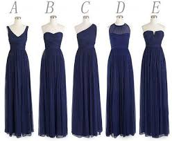 navy blue bridesmaid dress navy blue bridesmaid dresses chiffon bridesmaids dress