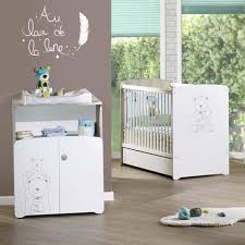 pack promo ensemble lit bébé 60x120 cm commode basile baby price