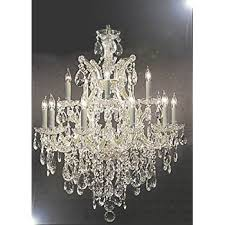 Maria Theresa 6 Light Crystal Chandelier Maria Theresa Swarovski Crystal Trimmed Chandelier Lighting