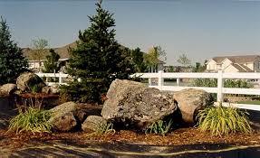 boulders for landscaping landscape with stones landscape