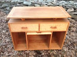 hand made cherry u0026 birdseye maple television stand by fieldstone