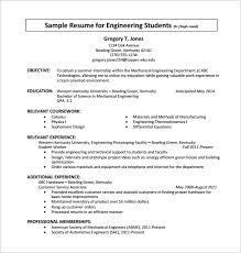 Objective In Resume For Experienced Software Engineer Free by Internship Resume Medium Size Of Resume Sample Example