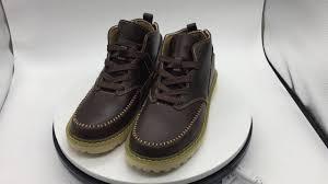 z suo men u0027s ankle boots brown cow split leather male western