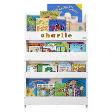 Bookcases John Lewis Tidy Books Personalised Abc Bookcase White Tidy Books And