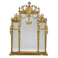 adam style a neoclassical style carved and gilded mahogany and composition
