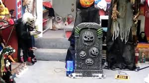 lunging lily spirit halloween spirit halloween 2015 pumpkin guardian of the grave speaker