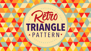 adobe illustrator random pattern video tutorial retro triangle pattern in adobe illustrator adobe