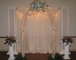 wedding arches with lights 27 best wedding columns and arches images on wedding