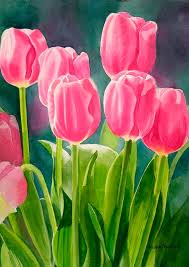 Images Of Tulip Flowers - best 25 tulip painting ideas on pinterest parrot tulip flower