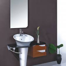 interesting bathroom vanity ideas come with varnished maple wood