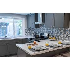 Ready To Install Kitchen Cabinets by Steel Grey Blue Grey Kitchen Cabinets Rta Cabinets Pre