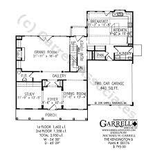 kensington b house plan cape cod house plans
