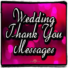 Words For Wedding Thank You Cards Wedding Thank You Greetings And Messages Wishes Album