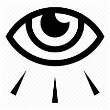 all seeing eye eye illuminati light occult see sight icon