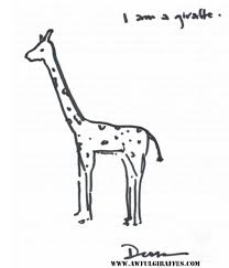 minnesota giraffes drawn by people who should not be drawing