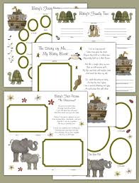 kitten decamp studios the best selection of nursery wall murals noahs ark premade 12x12 scrapbook pages baby first year