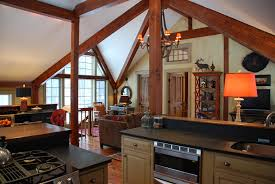 Small Post And Beam Homes Pan Abode Cedar Homes Timber Log Post And Beam Custom Kit Home