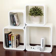 gloss white dekorkube s4 set of 4 mastershelf