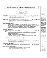 Sample Of Resume For Mechanical Engineer by Free Engineering Resume Templates 49 Free Word Pdf Documents