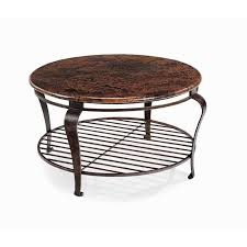nebraska furniture coffee tables 560 clark round coffee table in dark brown and black nebraska