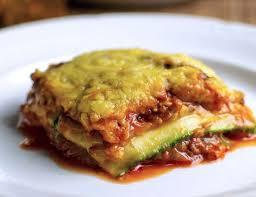 cuisiner des courgettes light lasagne de courgettes légère courgettes weight watchers lasagne