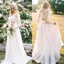 bohemian wedding dress discount bohemian wedding dresses chiffon lace top a line