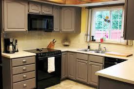 peindre des armoires de cuisine en bois repeindre meuble cuisine idées pour la maison