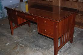 Mission Style Computer Desk With Hutch by Allen Desk Mission Style W Parson Chair
