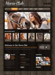 horse farms wordpress templates u0026 themes free u0026 premium free