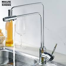 three kitchen faucets 3 way kitchen faucets water faucet european modern style brass